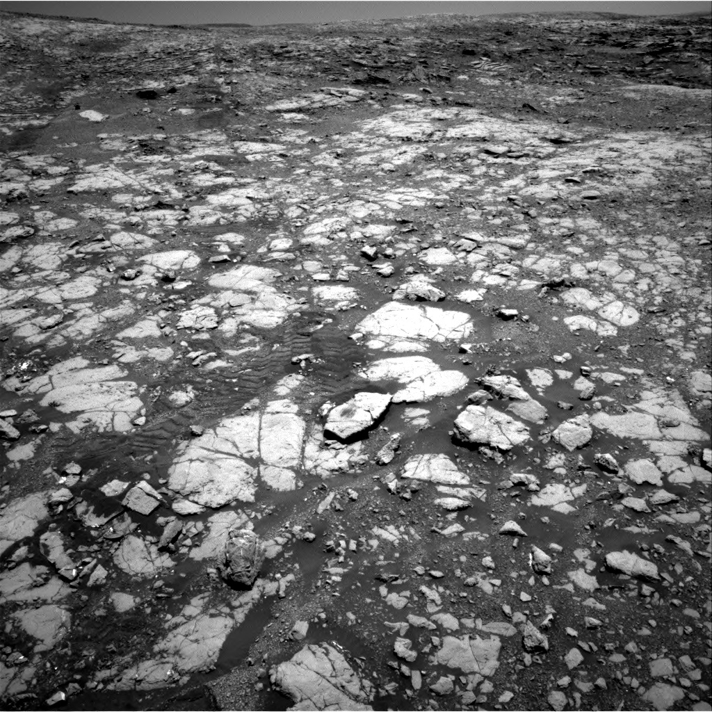 Nasa's Mars rover Curiosity acquired this image using its Right Navigation Camera on Sol 2004, at drive 90, site number 69