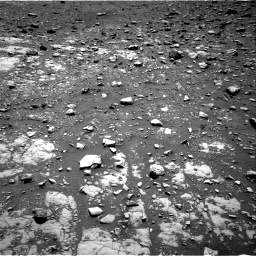 Nasa's Mars rover Curiosity acquired this image using its Right Navigation Camera on Sol 2004, at drive 348, site number 69