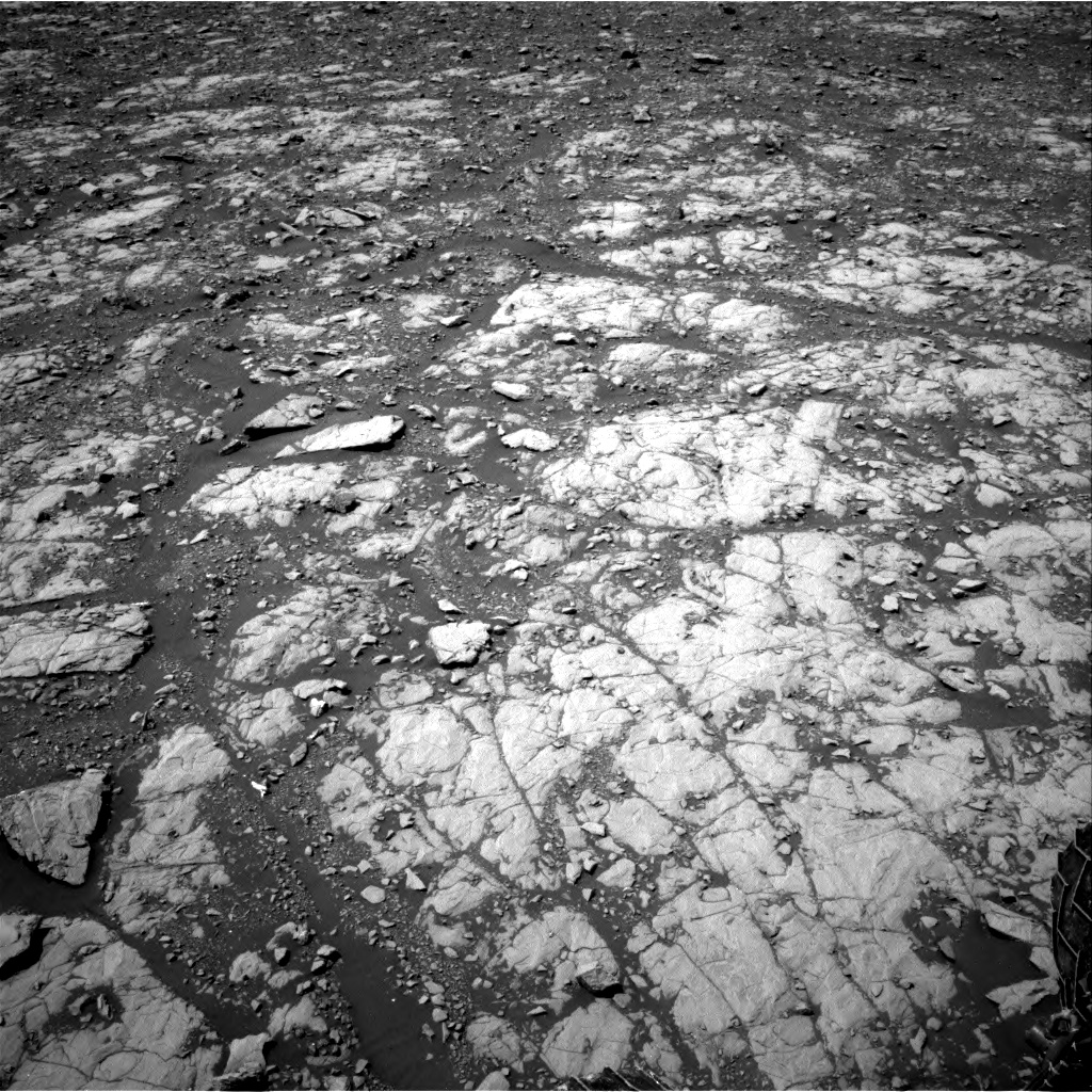 Nasa's Mars rover Curiosity acquired this image using its Right Navigation Camera on Sol 2004, at drive 372, site number 69