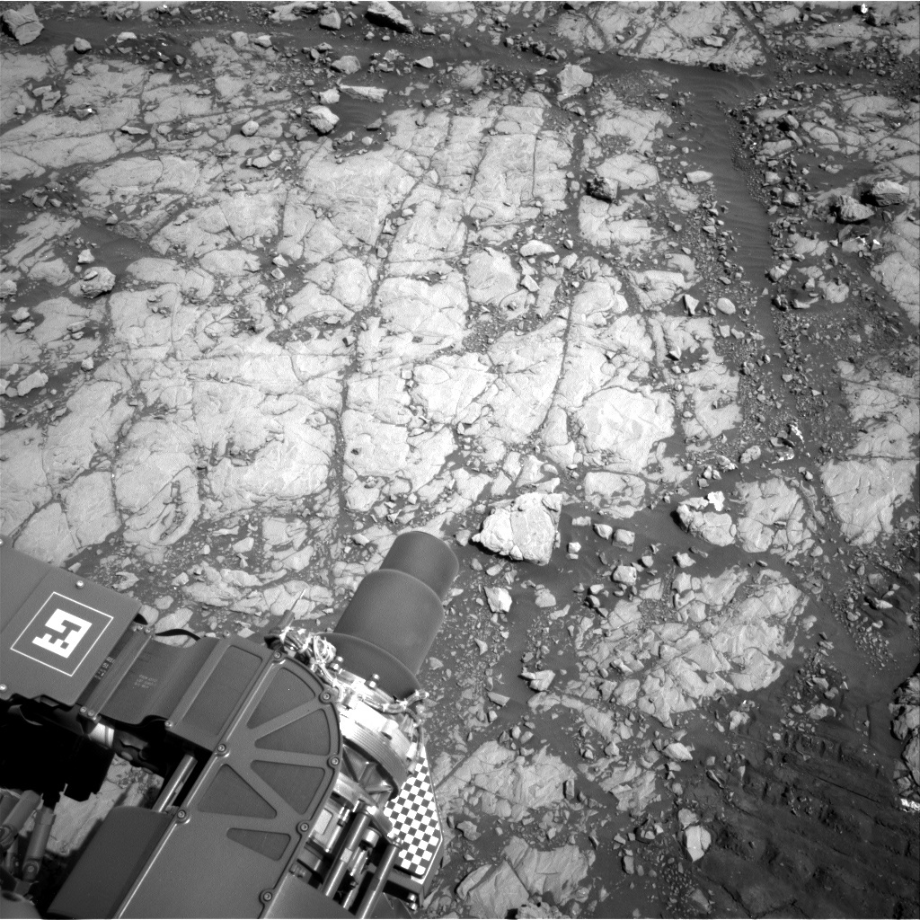 NASA's Mars rover Curiosity acquired this image using its Right Navigation Cameras (Navcams) on Sol 2004