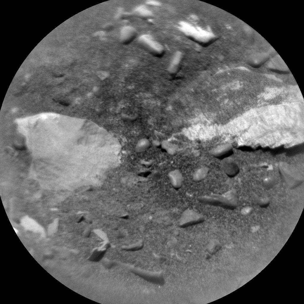Nasa's Mars rover Curiosity acquired this image using its Chemistry & Camera (ChemCam) on Sol 2004, at drive 0, site number 69