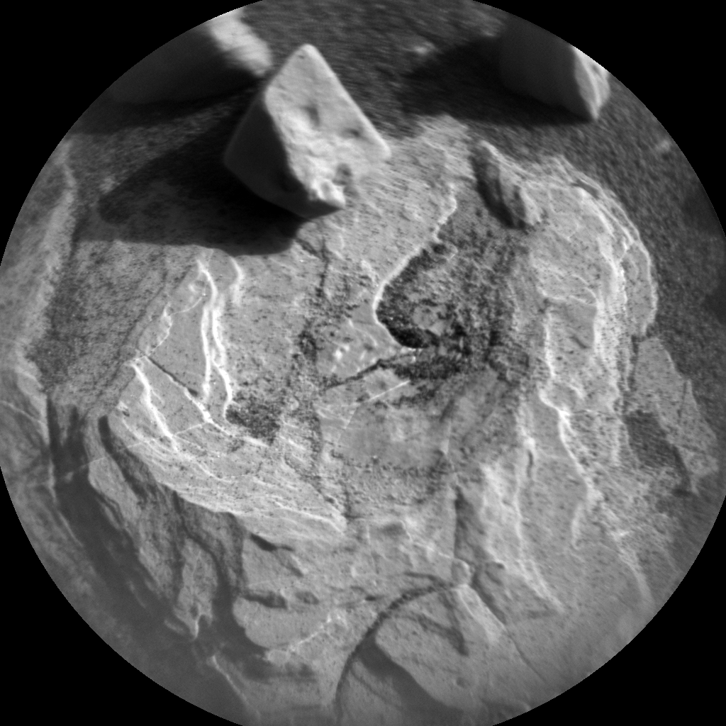 Nasa's Mars rover Curiosity acquired this image using its Chemistry & Camera (ChemCam) on Sol 2004, at drive 408, site number 69