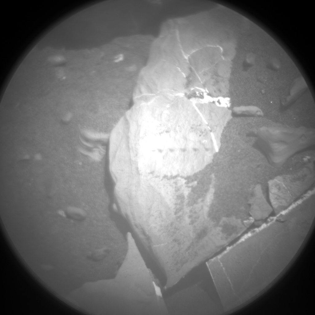 Nasa's Mars rover Curiosity acquired this image using its Chemistry & Camera (ChemCam) on Sol 2005, at drive 408, site number 69