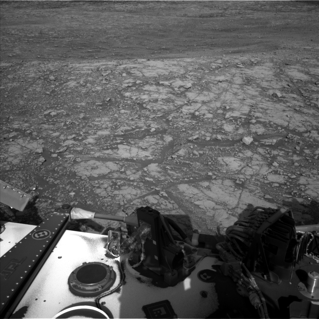 Nasa's Mars rover Curiosity acquired this image using its Left Navigation Camera on Sol 2005, at drive 408, site number 69