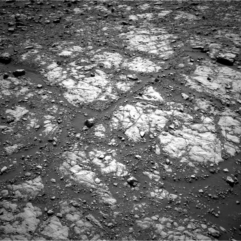 Nasa's Mars rover Curiosity acquired this image using its Right Navigation Camera on Sol 2005, at drive 408, site number 69