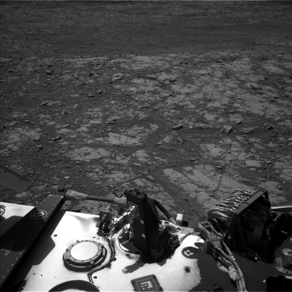 Nasa's Mars rover Curiosity acquired this image using its Left Navigation Camera on Sol 2006, at drive 408, site number 69