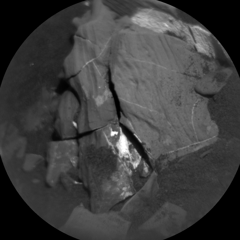 Nasa's Mars rover Curiosity acquired this image using its Chemistry & Camera (ChemCam) on Sol 2006, at drive 408, site number 69