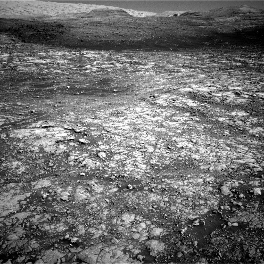 Nasa's Mars rover Curiosity acquired this image using its Left Navigation Camera on Sol 2007, at drive 714, site number 69
