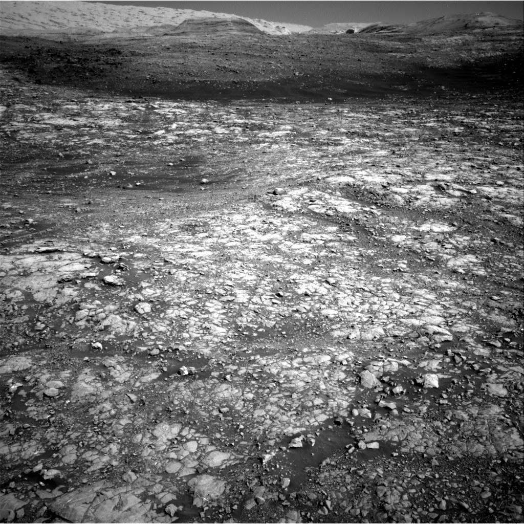 NASA's Mars rover Curiosity acquired this image using its Right Navigation Cameras (Navcams) on Sol 2007