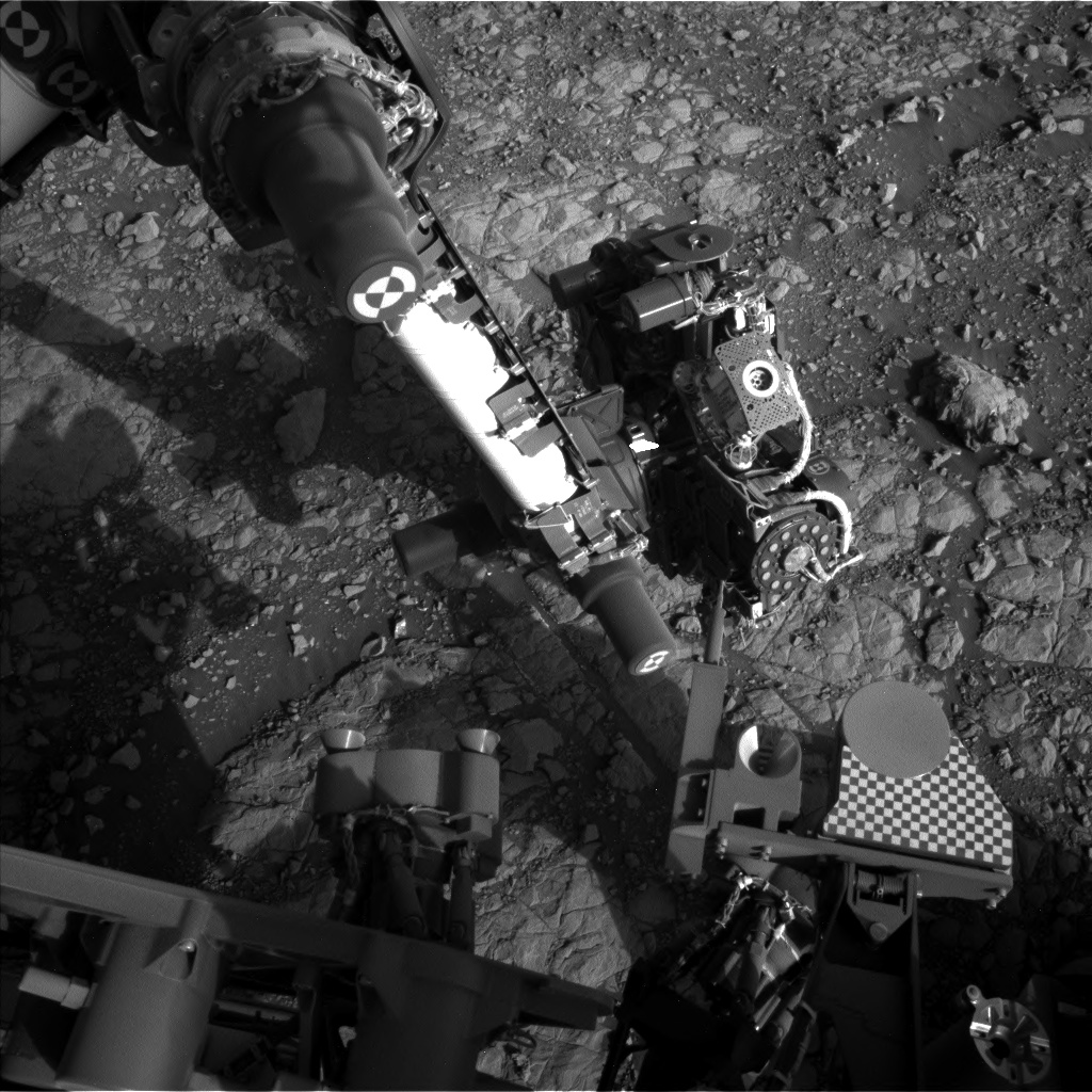 Nasa's Mars rover Curiosity acquired this image using its Left Navigation Camera on Sol 2008, at drive 714, site number 69