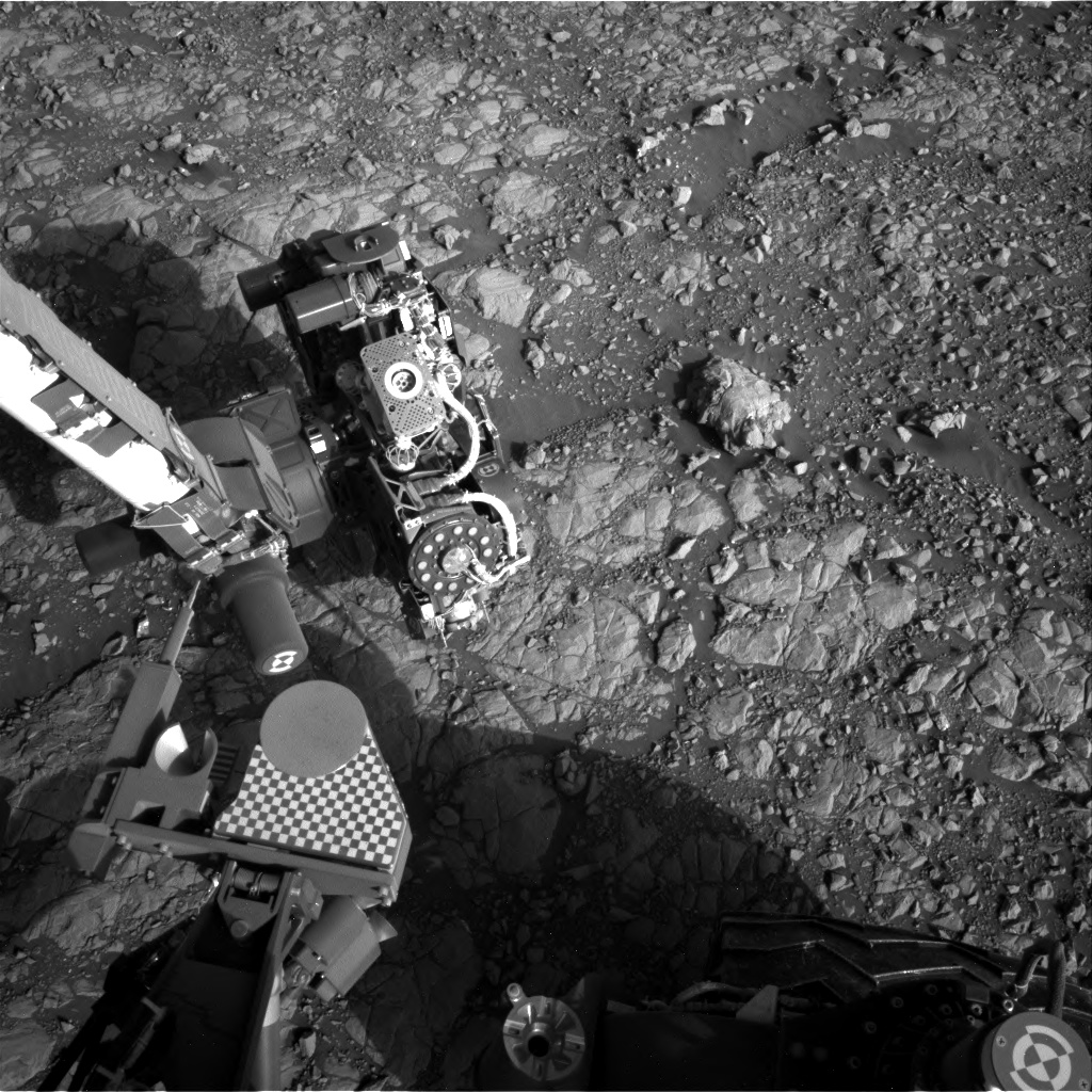 Nasa's Mars rover Curiosity acquired this image using its Right Navigation Camera on Sol 2008, at drive 714, site number 69