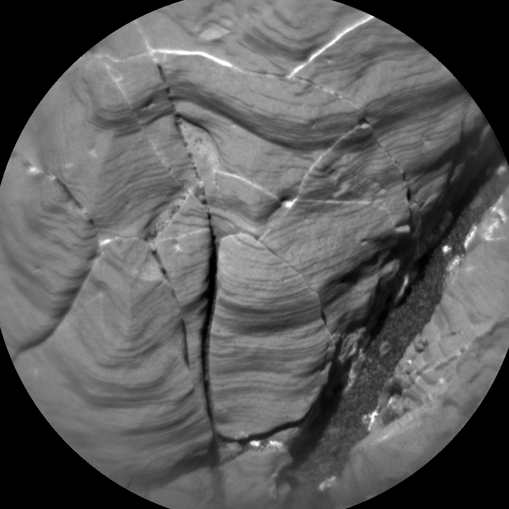 Nasa's Mars rover Curiosity acquired this image using its Chemistry & Camera (ChemCam) on Sol 2008, at drive 714, site number 69