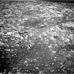Nasa's Mars rover Curiosity acquired this image using its Left Navigation Camera on Sol 2009, at drive 888, site number 69
