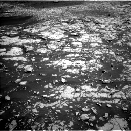 Nasa's Mars rover Curiosity acquired this image using its Left Navigation Camera on Sol 2009, at drive 948, site number 69