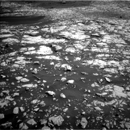 Nasa's Mars rover Curiosity acquired this image using its Left Navigation Camera on Sol 2009, at drive 960, site number 69