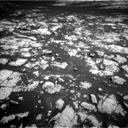 Nasa's Mars rover Curiosity acquired this image using its Left Navigation Camera on Sol 2009, at drive 996, site number 69