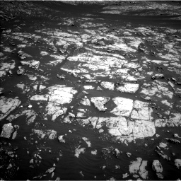 Nasa's Mars rover Curiosity acquired this image using its Left Navigation Camera on Sol 2009, at drive 1008, site number 69