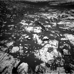 Nasa's Mars rover Curiosity acquired this image using its Left Navigation Camera on Sol 2009, at drive 1026, site number 69