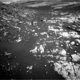 Nasa's Mars rover Curiosity acquired this image using its Left Navigation Camera on Sol 2009, at drive 1044, site number 69