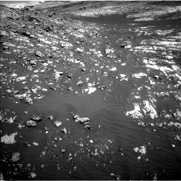 Nasa's Mars rover Curiosity acquired this image using its Left Navigation Camera on Sol 2009, at drive 1050, site number 69