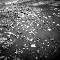 Nasa's Mars rover Curiosity acquired this image using its Left Navigation Camera on Sol 2009, at drive 1056, site number 69