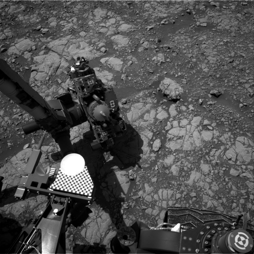 Nasa's Mars rover Curiosity acquired this image using its Right Navigation Camera on Sol 2009, at drive 714, site number 69