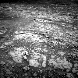 Nasa's Mars rover Curiosity acquired this image using its Right Navigation Camera on Sol 2009, at drive 756, site number 69