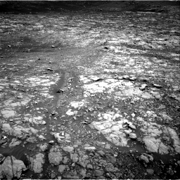 Nasa's Mars rover Curiosity acquired this image using its Right Navigation Camera on Sol 2009, at drive 762, site number 69