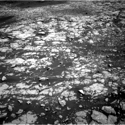 Nasa's Mars rover Curiosity acquired this image using its Right Navigation Camera on Sol 2009, at drive 942, site number 69