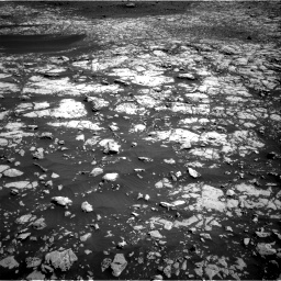 Nasa's Mars rover Curiosity acquired this image using its Right Navigation Camera on Sol 2009, at drive 960, site number 69
