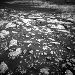 Nasa's Mars rover Curiosity acquired this image using its Right Navigation Camera on Sol 2009, at drive 972, site number 69