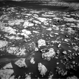 Nasa's Mars rover Curiosity acquired this image using its Right Navigation Camera on Sol 2009, at drive 978, site number 69