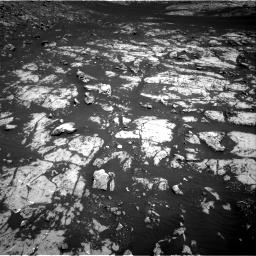 Nasa's Mars rover Curiosity acquired this image using its Right Navigation Camera on Sol 2009, at drive 1014, site number 69