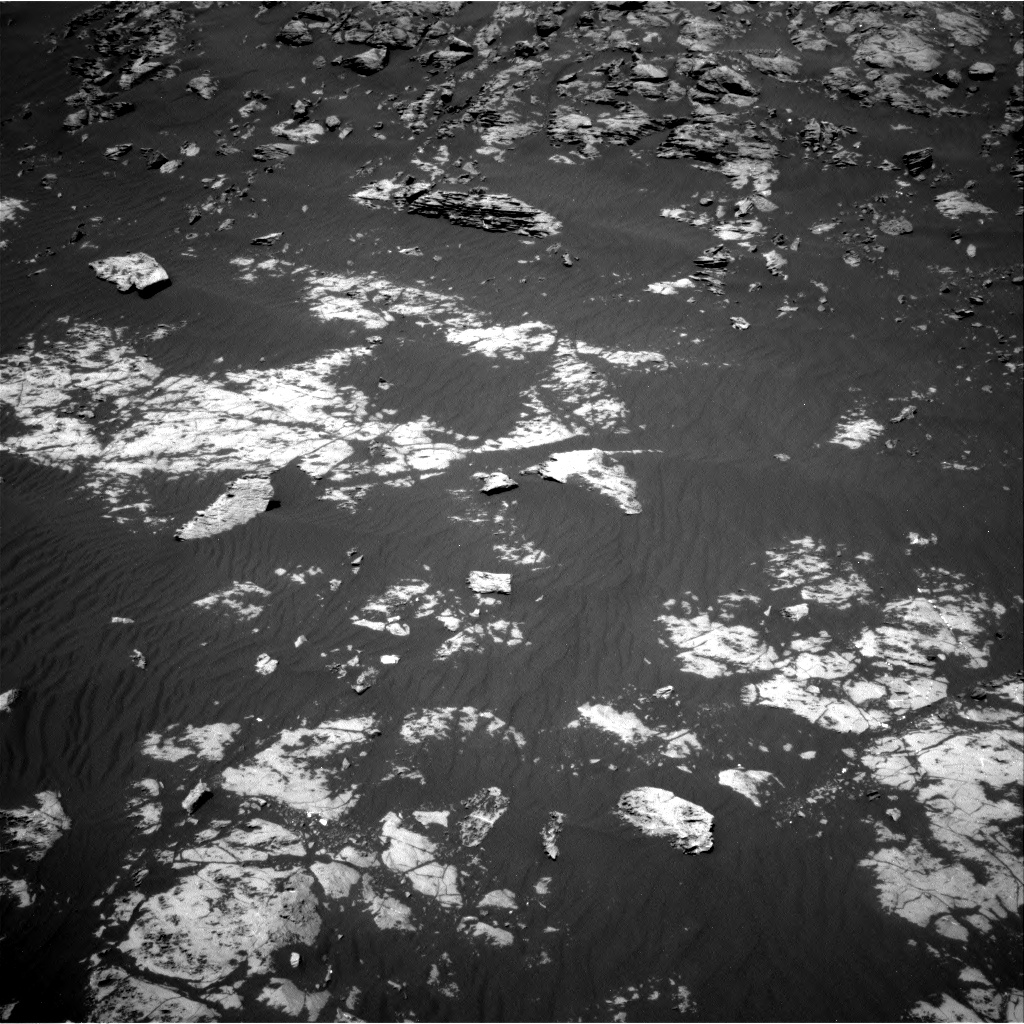 Nasa's Mars rover Curiosity acquired this image using its Right Navigation Camera on Sol 2009, at drive 1020, site number 69