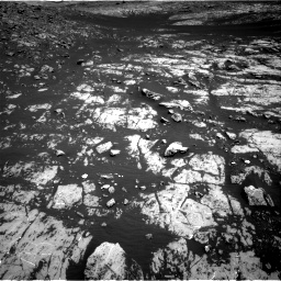 Nasa's Mars rover Curiosity acquired this image using its Right Navigation Camera on Sol 2009, at drive 1032, site number 69