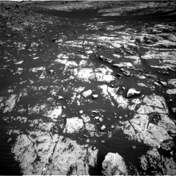 Nasa's Mars rover Curiosity acquired this image using its Right Navigation Camera on Sol 2009, at drive 1038, site number 69