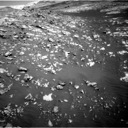 Nasa's Mars rover Curiosity acquired this image using its Right Navigation Camera on Sol 2009, at drive 1056, site number 69