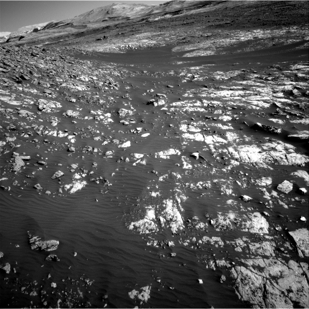 NASA's Mars rover Curiosity acquired this image using its Right Navigation Cameras (Navcams) on Sol 2009