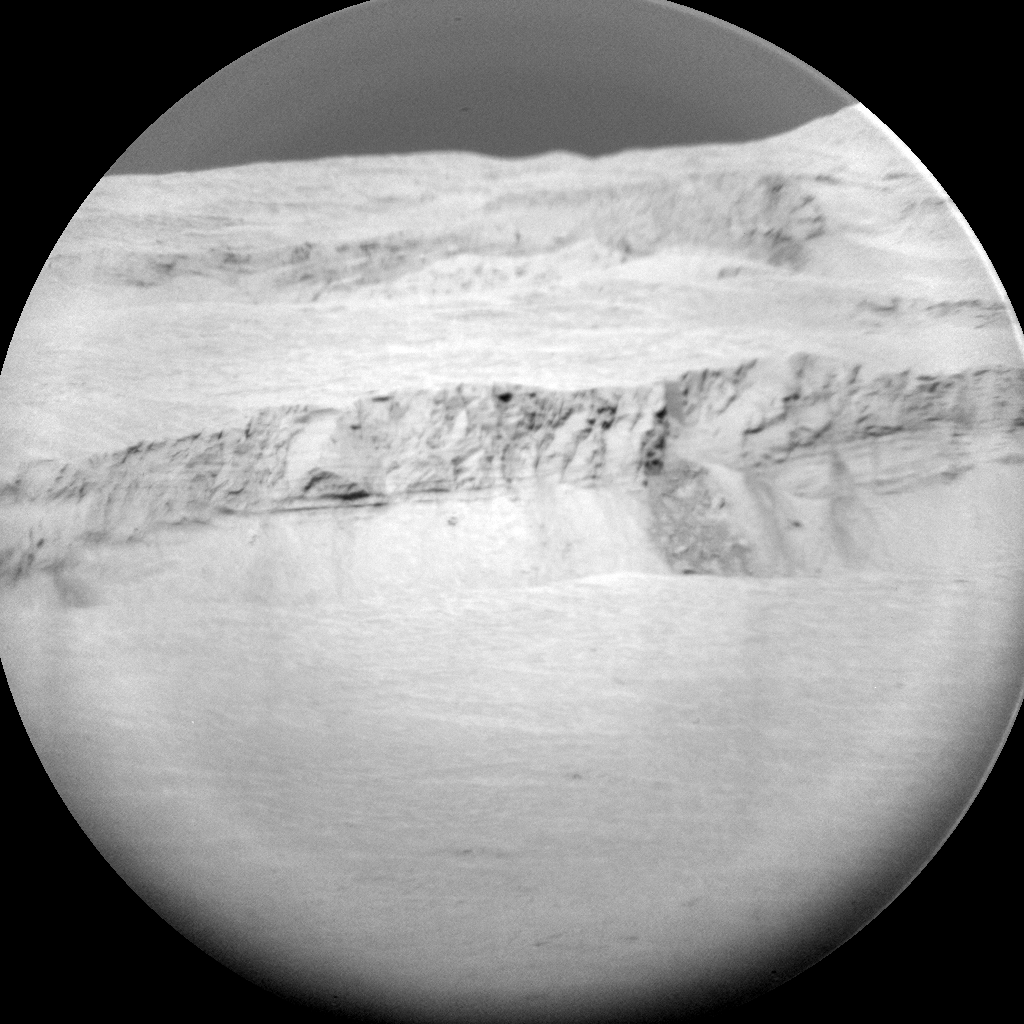 Nasa's Mars rover Curiosity acquired this image using its Chemistry & Camera (ChemCam) on Sol 2010, at drive 1072, site number 69