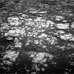 Nasa's Mars rover Curiosity acquired this image using its Left Navigation Camera on Sol 2012, at drive 1102, site number 69