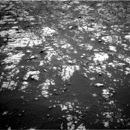 Nasa's Mars rover Curiosity acquired this image using its Left Navigation Camera on Sol 2012, at drive 1126, site number 69