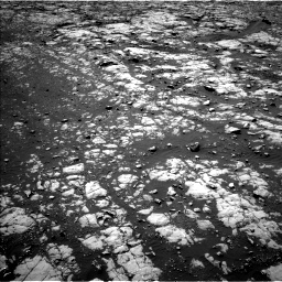 Nasa's Mars rover Curiosity acquired this image using its Left Navigation Camera on Sol 2012, at drive 1228, site number 69