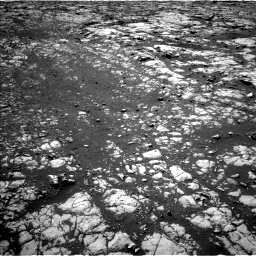 Nasa's Mars rover Curiosity acquired this image using its Left Navigation Camera on Sol 2012, at drive 1234, site number 69