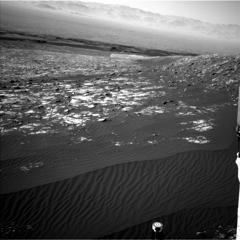 Nasa's Mars rover Curiosity acquired this image using its Left Navigation Camera on Sol 2012, at drive 1384, site number 69