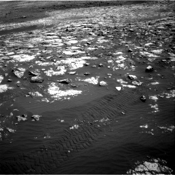 Nasa's Mars rover Curiosity acquired this image using its Right Navigation Camera on Sol 2012, at drive 1096, site number 69