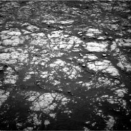 Nasa's Mars rover Curiosity acquired this image using its Right Navigation Camera on Sol 2012, at drive 1102, site number 69