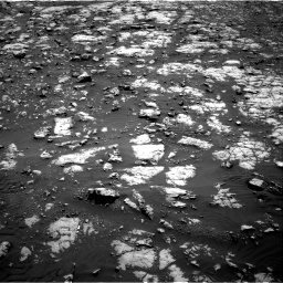 Nasa's Mars rover Curiosity acquired this image using its Right Navigation Camera on Sol 2012, at drive 1150, site number 69