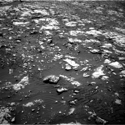 Nasa's Mars rover Curiosity acquired this image using its Right Navigation Camera on Sol 2012, at drive 1186, site number 69