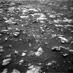 Nasa's Mars rover Curiosity acquired this image using its Right Navigation Camera on Sol 2012, at drive 1192, site number 69