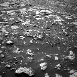 Nasa's Mars rover Curiosity acquired this image using its Right Navigation Camera on Sol 2012, at drive 1198, site number 69